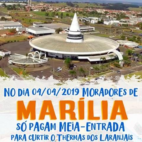 Imagem representativa: Promoção Marília Thermas   Olímpia SP   Reserve Agora
