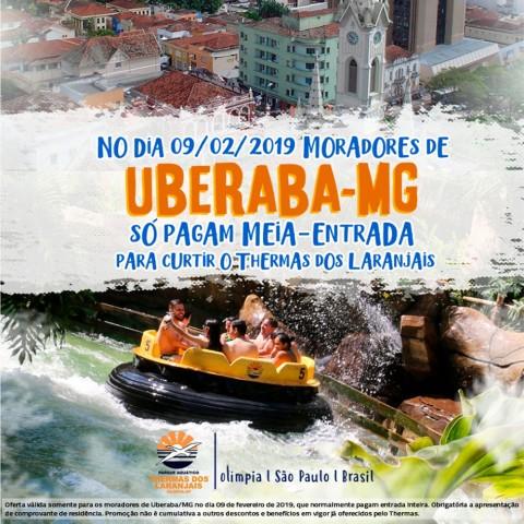 Imagem representativa: Promoção Uberaba Thermas dos Laranjais   Olímpia SP   Reserve Agora